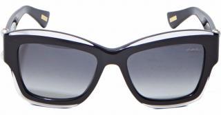 Lanvin pearl sunglasses in black