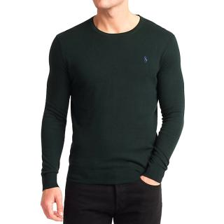 Polo Ralph Lauren Men's Slim Fit Pima Cotton Crew Neck Jumper