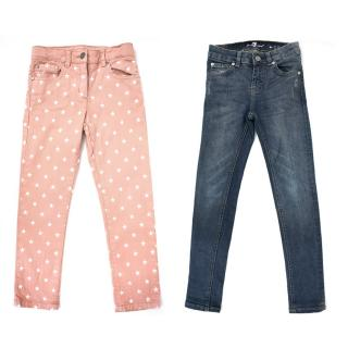 Stella McCartney and 7 for all Mankind Trousers