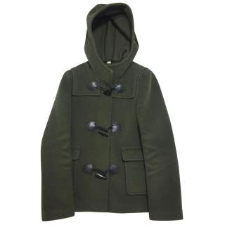 Burberry Brit Wool Duffer Jacket