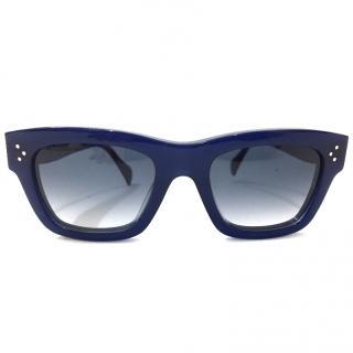 Celine Blue Audrey Sunglasses