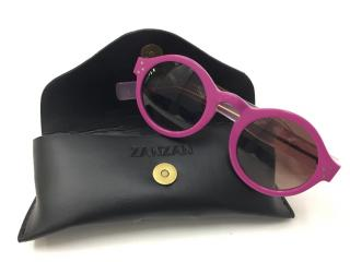 ZanZan pink Round Retro Sunglasses