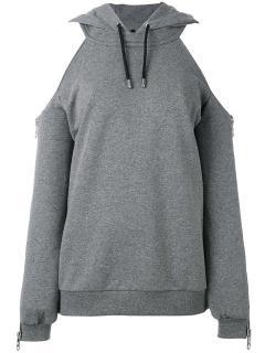 RTA cold shoulder hoodie