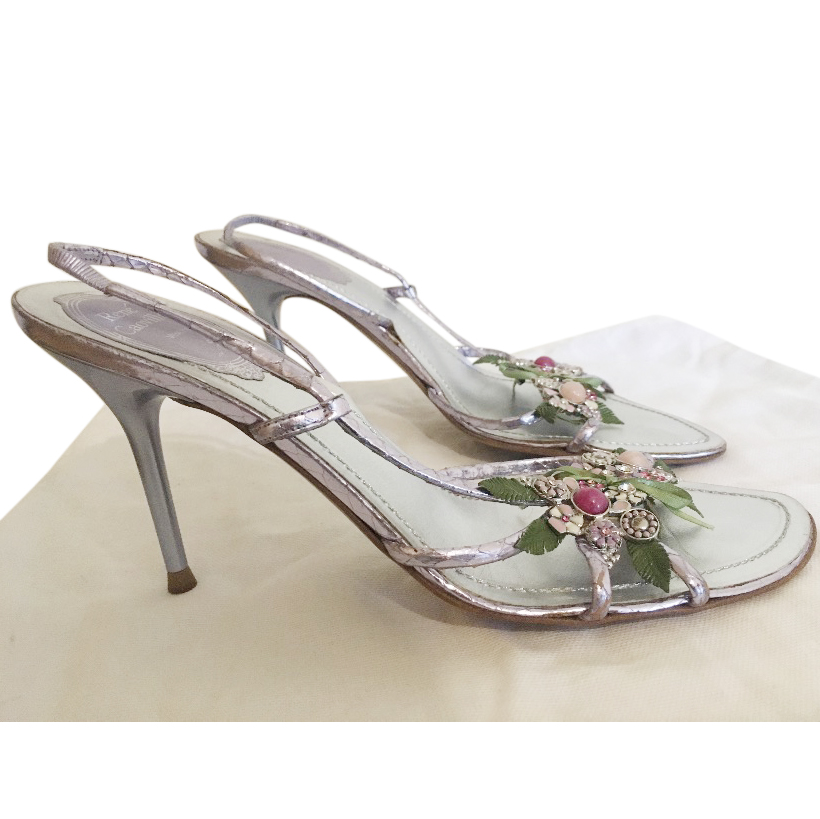 Rene Caovilla jewelled Sandals