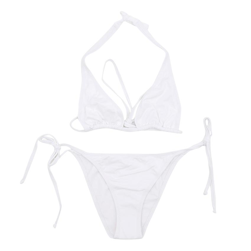 Melissa Odabash White 'Just Married' Bikini