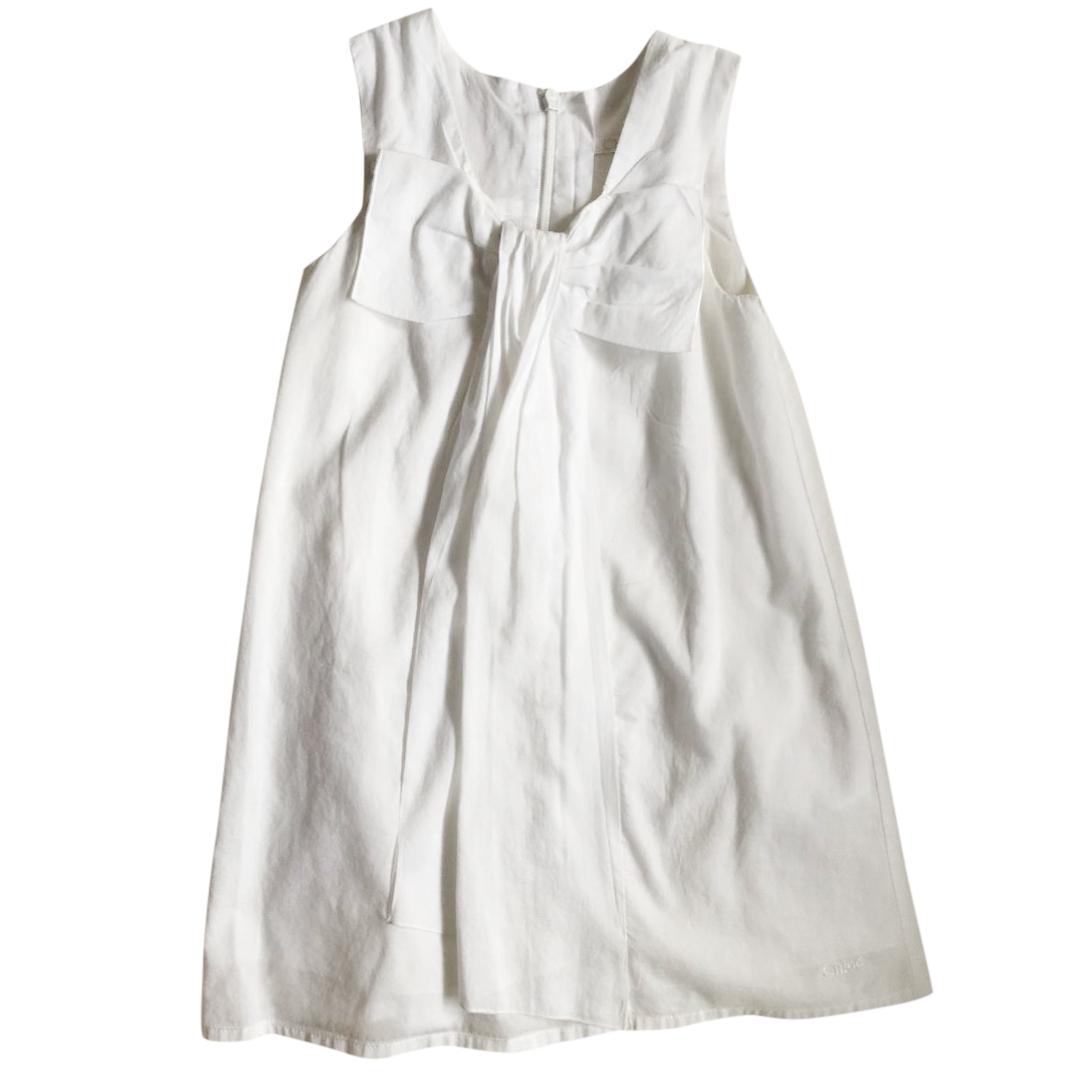 658fe5a08b9ce Chloe White Cotton Dress   HEWI London
