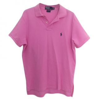 Ralph Lauren Pink Polo Shirt