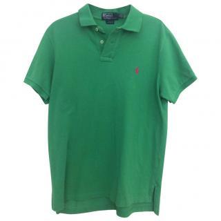Ralph Lauren Light Green Polo Shirt