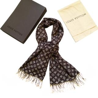 Louis Vuitton Monogram Wool Scarf
