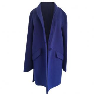 Valentino bright blue coat