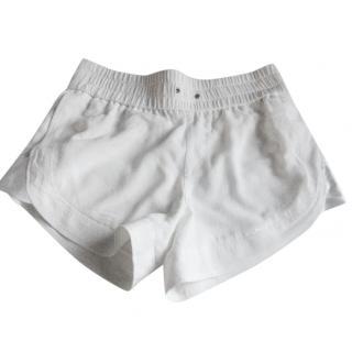 Helmet  Lang shorts