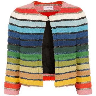 Sonia Rykiel Multicolor Tweed Jacket