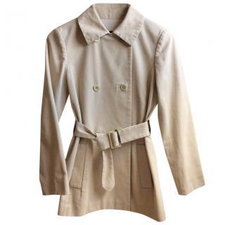 Loro Piana Cotton Trench Coat