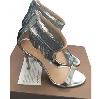 Gianvito Rossi silver shoes
