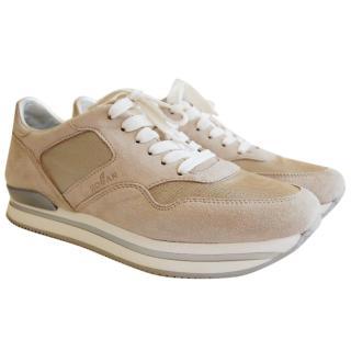 HOGAN Beige Sneakers H222