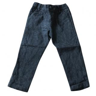 Gucci Boy's Black Formal Trousers