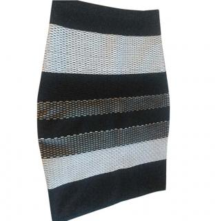 Alexander Wang Rib Netted Stretch Skirt