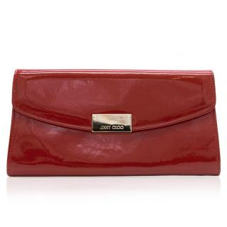 Jimmy Choo Red Patent Leather Purse
