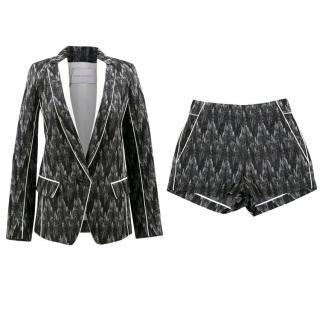 Kimora Lee Simmons Blazer and Shorts Set