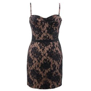 Haute Hippie Lace Corset Dress