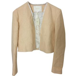 Maje Cropped jacket.