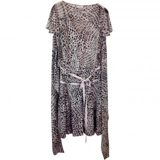 Essentiel Antwerp two piece silk dress
