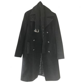 Faith Connection Charcoal Grey Trench Coat