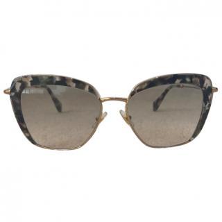 Miu Miu Square Frame Sunglasses