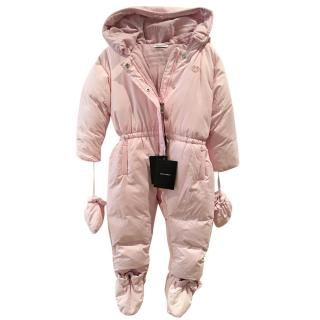 Dolce&gabbana girl's pink all in one