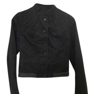 J.Lindeberg black denim jacket