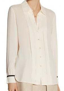 See BY Chloe Pleated Crepe Shirt
