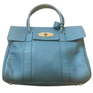 Mulberry Steel Blue Bayswater