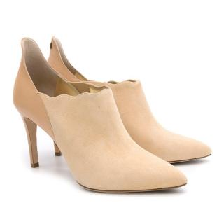 Lele PyP Suede and Leather Booties