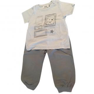 Christian Dior pants and t-shirt