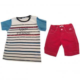 Gianfranco Ferre T-Shirt and Shorts Set