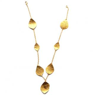 Kevia Gold Leaf Necklace