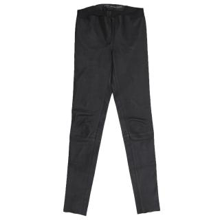 Alice+Olivia Stretch Leather Trousers