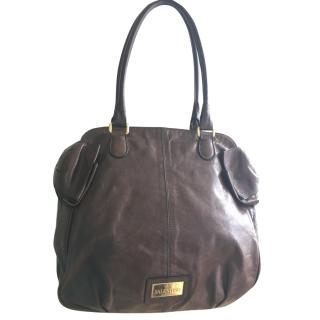 Valentino Brown leather bow bag