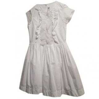 SIMONETTA white cotton dress