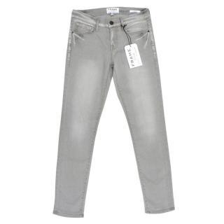 Frame Grey Le Garcon Skinny Jeans