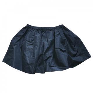 Miu Miu Black Puffer Skirt