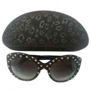Dolce & Gabbana D&G polka dot sunglasses