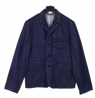 Carven blue jean jacket