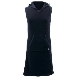 Burberry Navy Hooded Towel Dress