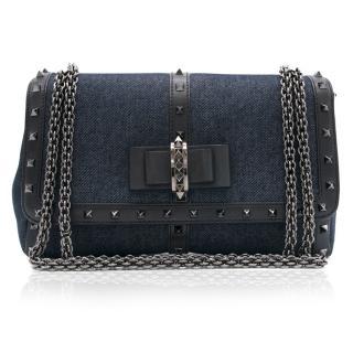 Christian Louboutin Sweet Charity Denim Handbag