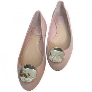 Dior Leather Ballerinas