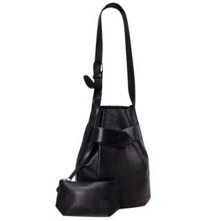 Louis Vuitton Sac de Paul Black Epi Bag