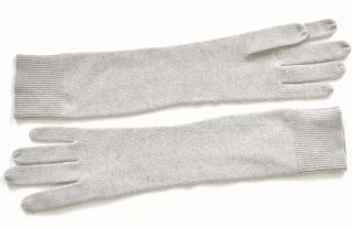 Ralph Lauren Black Label grey cashmere gloves