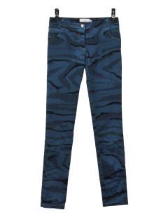 Preen by Thornton Bregazzi camo navy jeans