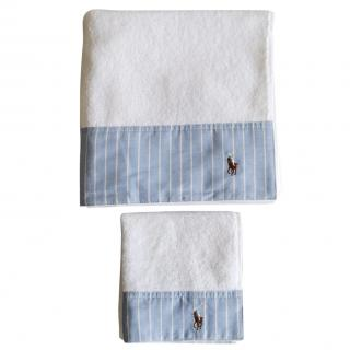 Ralph Lauren Home white towel set